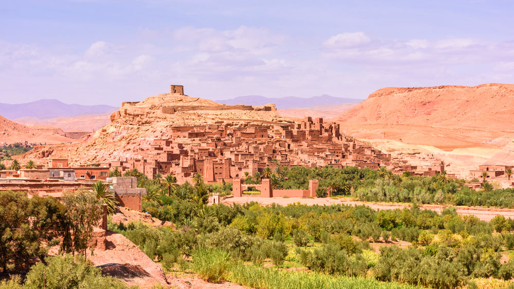 Day 1: Marrakech - High Atlas Mountains - Kasbah Ait Benhaddou - Dades Valley