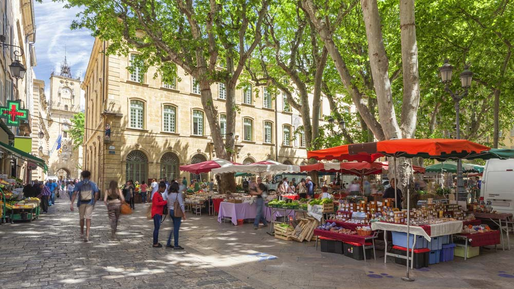 Day 2: Guided visit of Aix en Provence
